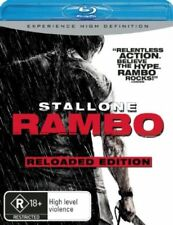 *Brand New & Sealed* Rambo (Blu-ray Movie, 2008) Sylvester Stallone