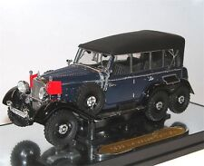 Signature Models, 1938 Mercedes-Benz G4 closed blue/black, 3-Achser, 1/43