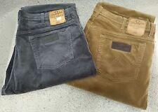 Wrangler Jeans Texas velluto coste 1000 righe Grigio Tg. W42/l34
