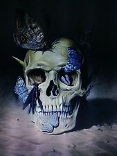 BUTTERFLY SKULL cross stitch kit