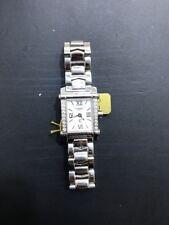 Charriol Watch Columbus Diamond Stainless Steel Wristwatch