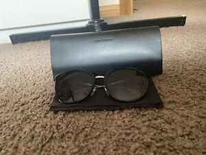 Burberry Model B4289-D Sunglasses in Saint Laurent Leather Case
