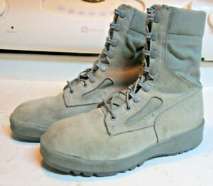BOOTS WELLCO SAGE GREEN MEN'S SIZE 6.5R USED $39.98