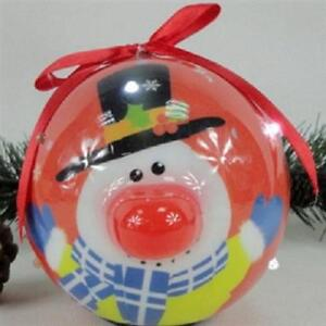 Recordable Christmas Snowman Baubles