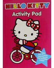 Hello Kitty Actividad Pad Hello Kitty Colorante Libro De Regalo Oficial De Hello Kitty