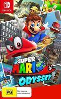 New Nintendo Super Mario Odyssey - Nintendo Switch - Free Shipping
