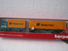Herpa HO/1:87 811544 MB Containerzug Heik78 Hannover Hapag-Lloyd (CC/985-13R6/5)