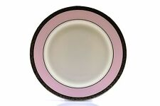 """Mary Kay Pink Platinum Silver Trim 10.75"""" Dinner Plate NEW"""