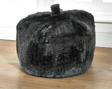 grey bean bag Luxurious Long Pile Large Faux Fur Bean Bag seat chair