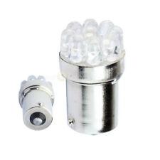 2 Pcs 1156 9 LED Car Lighting Bulb White Signal Turn Brake Stop Light 12 Volt eu
