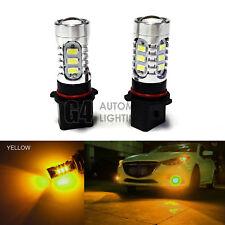 2x P13W LED Fog Light Bulbs 15W SMD 5730 12V High Power Bright DRL Golden Yellow
