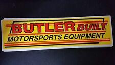Butlerbuilt Motorsports Equipment Decals