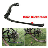 Road Mountain Bike Bicycle Side Rear Kick Stand Adjustable MTB Kickstand M @wi