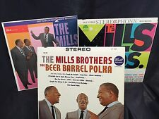 3 VINYL LP  MILLS BROTHERS / GREATEST HITS/  BEST OF/ BEER BARREL POLKA/ etc.