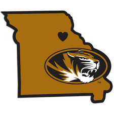 Missouri Tigers Home State Vinyl Auto Decal NCAA Licensed Football Made In USA