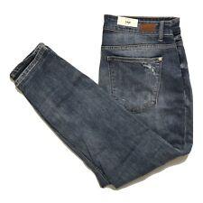 Judy Blue Boyfriend Jeans Size 14W High Rise Stretch Distressed Destroyed NWT