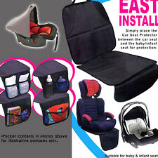 Waterproof Car Auto SEAT Back Protector Cover for Kids Baby Kick Mat Protect