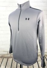 Under Armour ColdGear Infrared Thermo Golf 1/2 Zip Pullover Mens Small Loose Fit