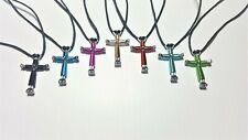 Horseshoe Nail Disciple Cross Necklace (50)  Handmade !! Free Shipping!!