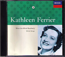Kathleen FERRIER: BLOW THE WIND SOUTHERLY British Songs Willow, Willow CD
