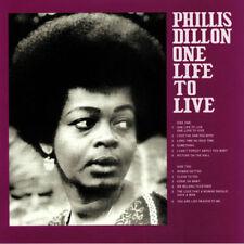 Phillis Dillon – One Life To Live Sky Blue Marbled Vinyl LP