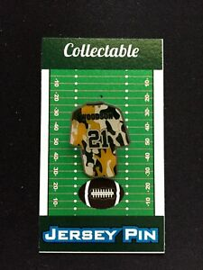 Green Bay Packers Charles Woodson jersey lapel pin-CAMO Collectable