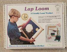 """Harrisville Designs Original Lap Loom 12"""" x 16"""" Hardwood Weaving Loom Complete"""