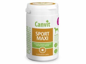 Genuine Canvit Sport MAXI 230 g Vitamins Dogs Food Supplement active dogs