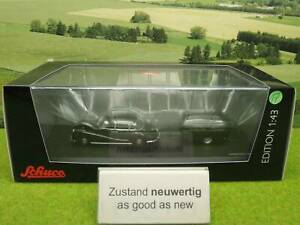 Schuco 45 020 4500 1:43 BMW 502 mit Bestattungsanhänger (UF) R0152