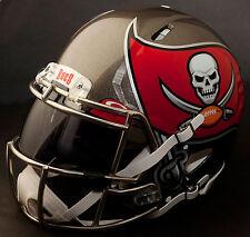 ***CUSTOM*** TAMPA BAY BUCCANEERS NFL Riddell Revolution SPEED Football Helmet