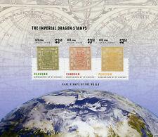 Canouan Grenadines St Vincent 2014 neuf sans charnière Rare timbres monde 3V m / s Imperial Dragon