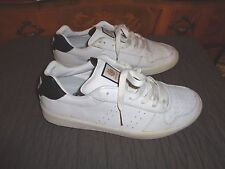 2008 ELEMENT SKATE SHOES WHITE/BLACK SZ 9.5