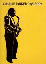 Charlie Parker Omnibook Learn to Play E Flat Jazz Alto Sax Saxophone Music Book