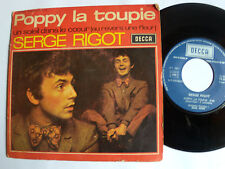 """SERGE RIGOT : POPPY LA TOUPIE / un soleil dans le coeur - 7"""" SP DECCA 1971"""