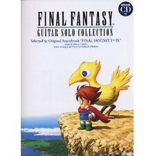 Final Fantasy Guitar Solo Collection FFI - IX sheet music collection book w/CD
