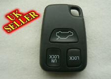 VOLVO 3 BUTTON S40 V40 S70 C70 V70 Remote Key FOB Case Shell UK SELLER