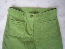 Talbots kids Girls Loop Belted Corduroy Pants - Green - Size 8 - NWOT