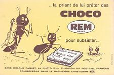 BUVARD CHOCO REM REIMS LA CIGALE ET LA FOURMI