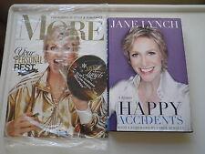 Happy Accidents Jane Lynch Book NEW HC/DJ 2011+More Magazine 11/10 SEALED! Glee