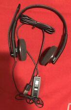 PLANTRONICS BLACKWIRE C320 Stereo Noise Canceling USB PC HEADSET Avaya Cisco