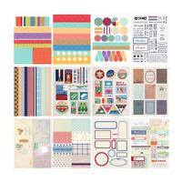 12Sheet  Album Scrapbook Calendar Diary Planner Card Photo Sticker Letter