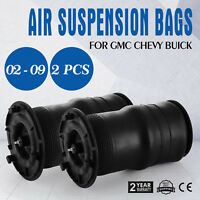 2pcs Air Suspension Bag for GMC Buick 02-09 Trailblazer Envoy Chevy CE APPROVED