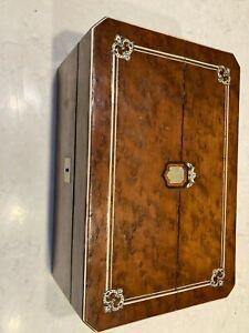 Birdseye maple lap desk