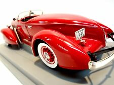 1935 Auburn 851 Speedster Ertl 1:18th scale die cast EL Cord 810 812 1936 852 SC