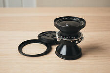 Very Nice - Schneider Super Angulon 90mm f8 Lens with Step-Ring, Caps, and Wrap