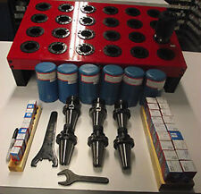 37pc Techniks CAT40 ER16 & ER32 25,000 RPM Tooling Pkg.