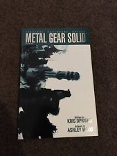 Metal Gear Solid Comic Signed Rare