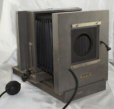 Ansco 5x7 Studio Camera w/ 4x5 Graflok Back & Shutter w/ Sync