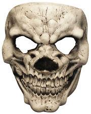 Scary Payday Blanco Cráneo Máscara De Látex Terror Elegante Halloween Cara Máscara Nuevo