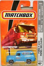 MATCHBOX 2009 CITY ACTION FORD F-100 PANEL DELIVERY #47 W+